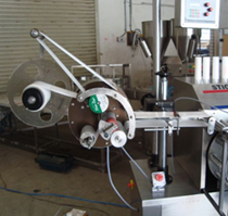 Automatic Tube Labeler Machine